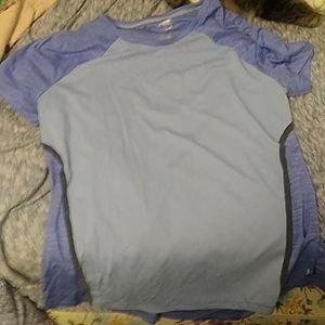 Light purple workout shirt